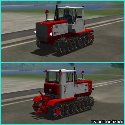 Мод трактора t 150 guseniza для farming landwirtschafts